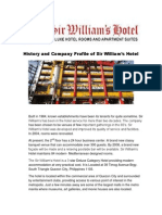 History and Company Profile of Sir William PRINT