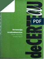 De Certeau Michel - Invencija Svakodnevnice