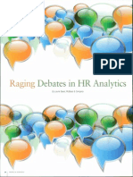 Debate Over HR Analytics