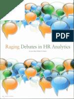 Debate Over HR Analytics
