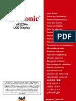 VA2226w LCD Display
