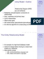 ER Model - Outline