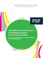 Guide Rage Systemes Photovoltaiques Toitures Inclinees 2013 03