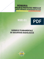Norme Securitate Radiologica