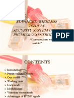 Advanced Wireless Vehicle Security PPT