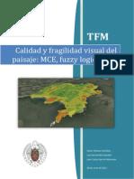 TFM. Calidad y Fragilidad Visual Del Paisaje