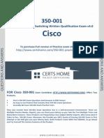 350-001 Exam Questions Free PDF Demo