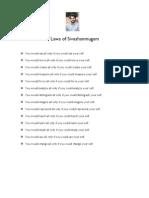 Laws of Sivashanmugam
