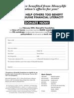 MLF Donation Form