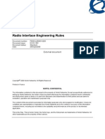 Radio Interface Engineering Rules