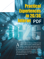 Experiences in 2g 3g Interworking