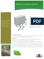 M2Ms the Soil Moisture Solutions