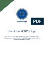 Use of Nebosh Logo