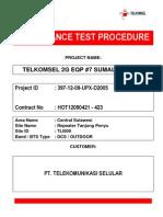 Atp Procedure Bsc