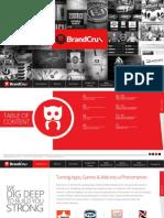 Brochure of Brand Crux |  Brand Crux Reviews
