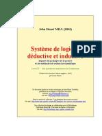 Système de logique déductive et inductive - Livre IV