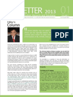 Prof Kumar Newsletter Jul2013