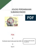 Patofisiologi Perdarahan Subarachnoid (Suaida-FK UMM)