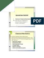 Chemistry Classical Mechanics chem