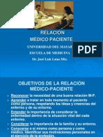 Relacion Medico Paciente Para El Propedeutico