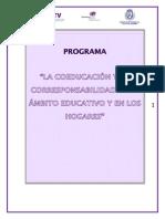 Curso La Coeducacion y La Corresponsabilidad en El Ambito Educativo y en Los Hogares