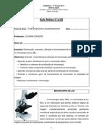 01 - Prática Histologia 2014 - MICROSCOPIA