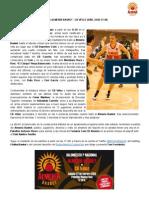 Previa Almería Basket - CB Vélez | Sábado 22 17.30h