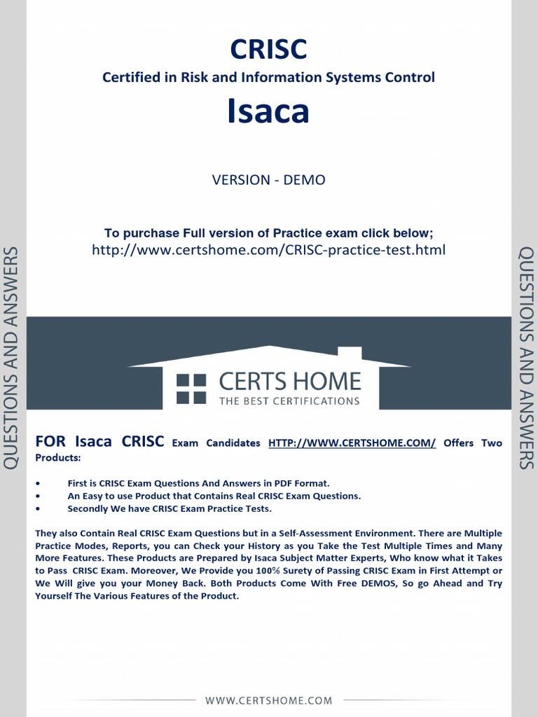 Crisc Exam Secrets Of Passing Exam In First Attempt Risk