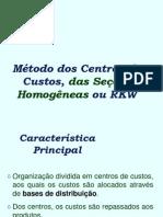 Centro de Custos 1