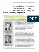 Save Time and Effort With ABAP Memory Inspector