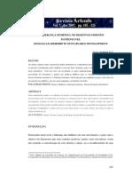 A LIDERANÇA FEMINA NO DESENVOLVIMENTO SUSTENTÁVEL