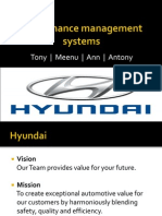 Performance appraisal at Hyundai