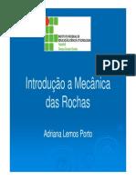 Mecânica das Rochas