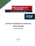 Revista Do Seminario Dos Alunos Do PPGLM-UFRJ