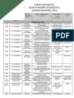 Agenda Regional 2014 (Oficial)