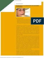 Mujeres Indígenas Hoy_ ENTREVISTA A LA SOCIÓLOGA SILVIA RIVERA CUSICANQUI