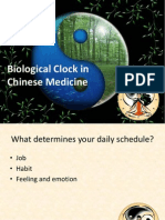Biological Clock in Chinese Medicine