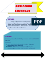 Mind Mapping CA Esofagus