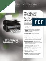 Brochure Wf m1560