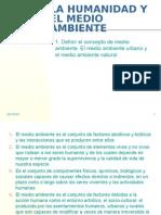 UD1 La Humanidad y El Medio Ambiente Curso 08-09