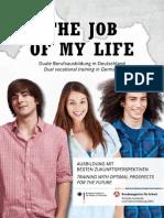The Job of My Life Brochure English German