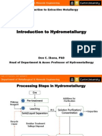 Introduction to Hydrometallurgy_UI_Lecture Slides