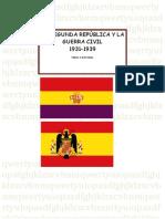 ACTIVIDADES 2ª REPUBLICA Y GUERRA CIVIL