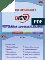 Materi Sistem Informasi I
