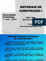 1) INTRODUÇÃO HISTÓRICA DOS MATERIAIS DE CONSTRUÇÃO