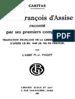 Saint Francois d Assise Raconte Par Ses Premiers Compagnons 000000832