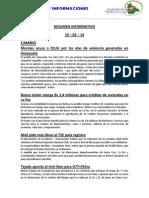 Resumen Informativo Diputados Bolivia 19-02-14
