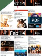 Agenda Cultural FEB Del 19 Al 23 LPA