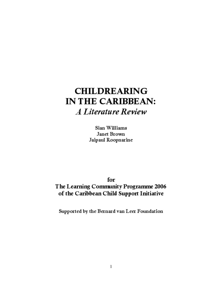 literature review carib 2