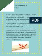 Que Es Ser Bachille1.PDF Asdffg